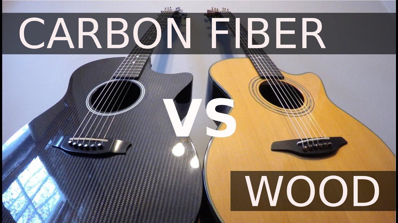 CARBON FIBER vs WOOD – Guitar Tone Comparison!