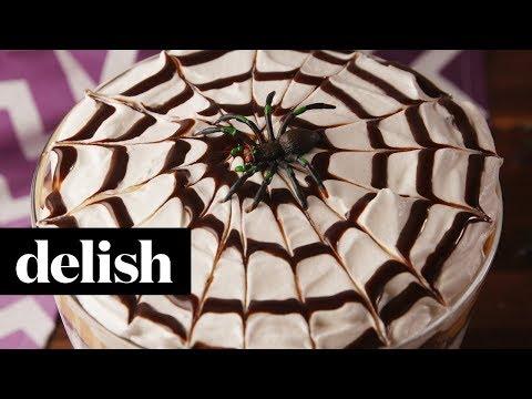 Spider Pumpkin Trifle | Delish