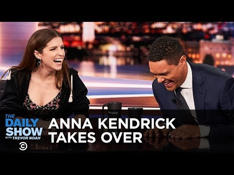 Anna Kendrick's Between the Scenes Takeover - Between the Scenes | The Daily Show