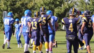 Week 8 - Bantam Warriors 28 - Cumberland Panthers  3