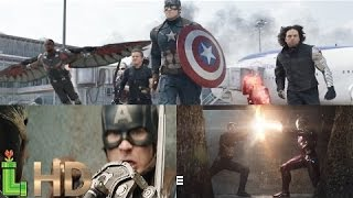 Nonton Captain America Civil War   All Fight Scenes  Opening  Airport   Final Battle  Hd Film Subtitle Indonesia Streaming Movie Download