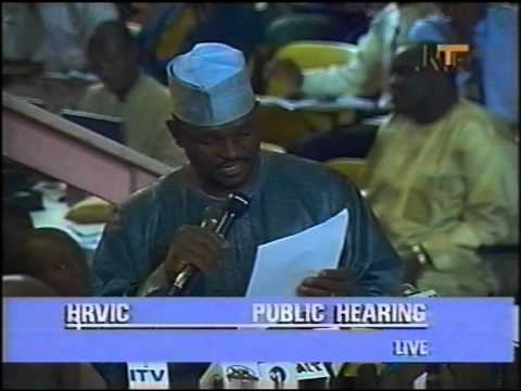 mustapha - Major Al-mustapha was cross examined at the Human Right Violation Investigation Commission (HRVIC) - Oputa Panel on the death of Chief MKO Abiola. He aggress...