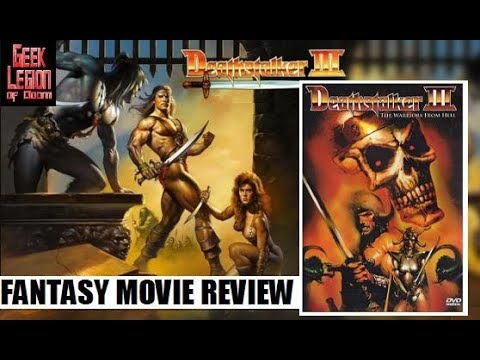 DEATHSTALKER III AND THE WARRIORS FROM HELL ( 1988 John Allen Nelson ) Fantasy Movie Review