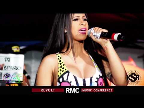 Cardi B FREESTYLE at RMC (Revolt Music Conference)