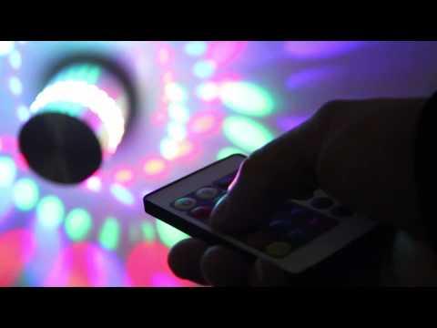 3W Alu LED RGB Wandleuchten Wandlampen Flurlampe Effektleuchte