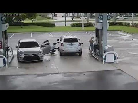 Ten filmik pokazuje, dlaczego należy bardzo uważać na stacji benzynowej!