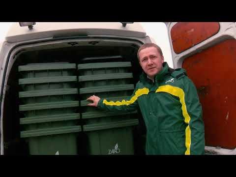 Valmieriešiem pieejami konteineri dalīti vāktu atkritumu savākšanai