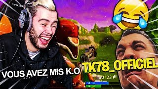 JE PRANK SALEMENT THEKAIRI78 SUR FORTNITE !!
