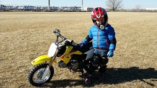 4. Suzuki DR-Z70 - Third Day of Riding... Buy your kid a motorcycle!