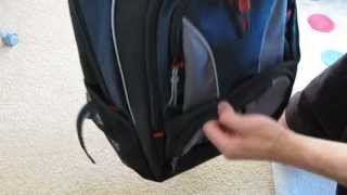 A quick review of the Swissgear GA-7343-06 Cobalt 15.6 Inch Laptop Backpack.