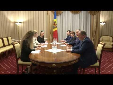 Președintele Republicii Moldova a avut o întrevedere Ambasadoarea Regatului Marii Britanii în Republica Moldova