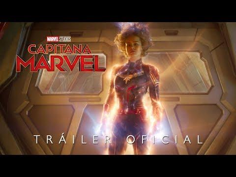 Capitana Marvel - Tráiler oficial en español?>