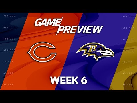 Video: Chicago Bears vs. Baltimore Ravens | Week 6 Game Preview | NFL