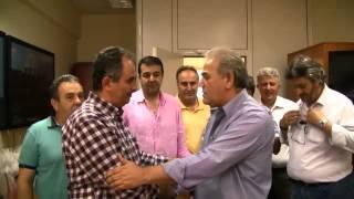 Ο Σταμάτης Ρέλιας, παραδίδει τη θέση του προέδρου της ΓΕΝΟΠ/ΔΕΗ-ΚΗΕ στον Γ. Αδαμίδη