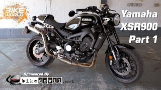 8. Yamaha XSR900 Long Term Review Part 1 (Bike Introduction)