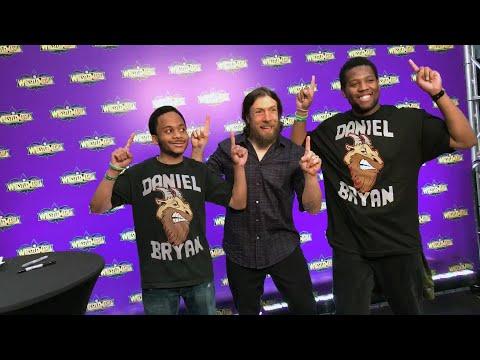 Daniel Bryan meets his jubilant fans at WrestleMania Axxess: WrestleMania Diary