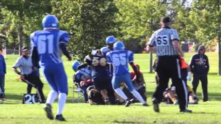 Week 8 - Pee Wee Warriors 20 vs Cumberland Panthers 48