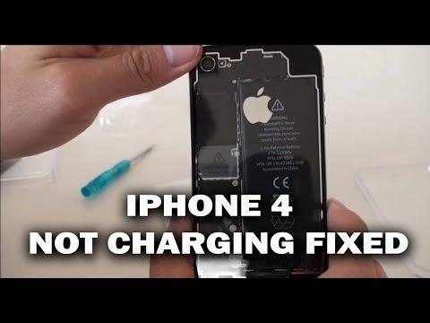IPHONE 4 NOT CHARGING FIX REPAIR