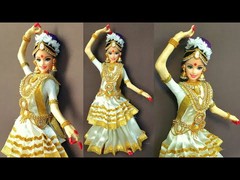 Mohiniattam Doll | Newspaper Doll Making | DIY | How To Make | Creative Craft By Punekar Sneha