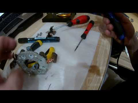 BMW E46 Engine starter repair at home