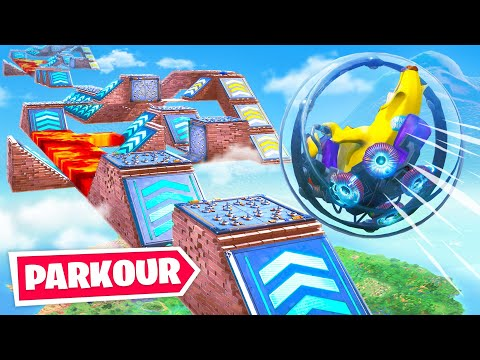 Impossible *New* Fortnite Baller Obstacle Course! (Hamster Ball Parkour Challenge) - Thời lượng: 14 phút.