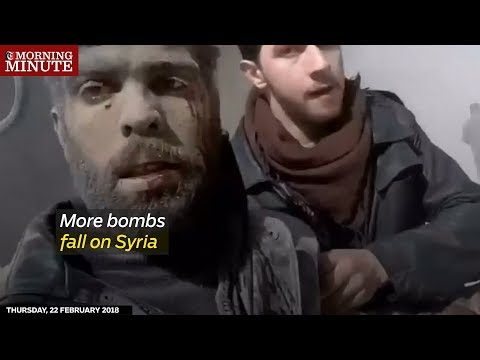More bombs fall on Syria