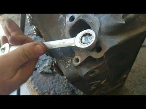 Easy broken exhaust manifold bolt removal