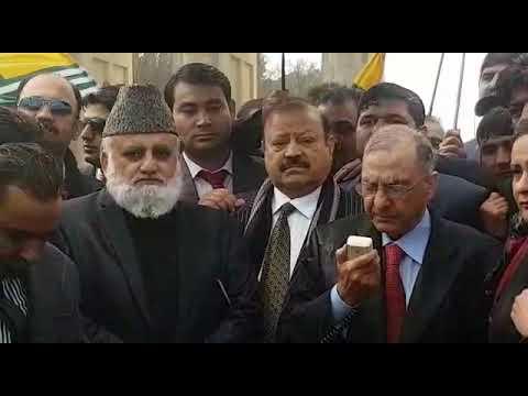 Kashmir Berlin March Barrister Sultan Mehmood Ch Abdul Rashid Turabi Dr Ghulam-Nabi Fai,Fahim Kayani