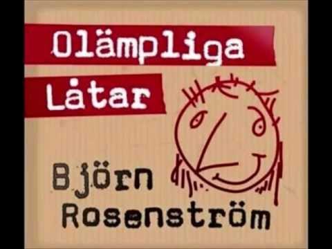 Tekst piosenki Björn Rosenström - Ville spela svår po polsku
