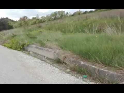 Tortoreto, situazione sempre più grave per la strada panoramica (SERVIZIO/FOTO)