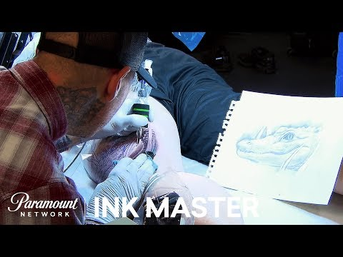 Welcome to the Jungle!: Elimination Tattoo | Ink Master: Shop Wars (Season 9)