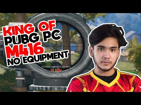 Supernayr King Of PUBG PC Indonesia Challenge M416 No Equipment