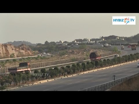 Nehru Outer Ring Road At Hyderabad