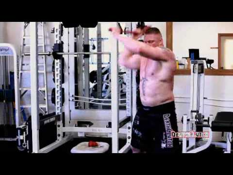 conditioning - Cardio / Conditioning workouts of Brock Lesnar from UFC 100 training camp (against Frank Mir).