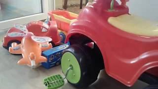 #Oyuncak dünyası # oyuncaklar# ve arabalarla oyun