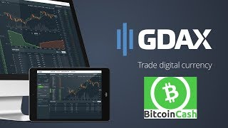 Livestream - The Re-Opening Of Bitcoin Cash Trading on GDAX