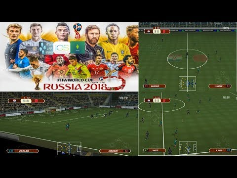 PES 2018 PSP (PPSSPP / IOS / ANDROID) World Cup 2018 New Camera Atualizado (C 19) Download ISO
