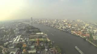 Bangkok Chao Phraya River Time-lapse