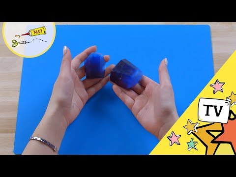 Mydło w Kształcie Kryształów DIY / MY3 Zrób to z nami  Kryształowe Mydło My3 - TV dla Dzieci