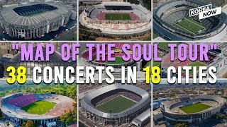 Video What are the venues for BTS' 2020 MAP OF THE SOUL TOUR? download in MP3, 3GP, MP4, WEBM, AVI, FLV January 2017