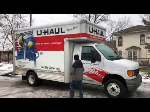 15' U-haul Box Truck Review