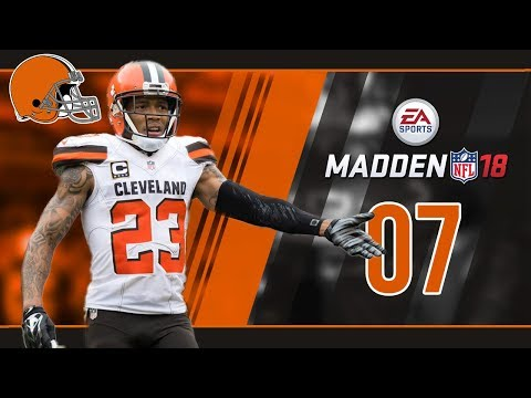 Madden NFL 18 Owner Mode (Cleveland Browns) #07 Week 6 vs. Texans (видео)
