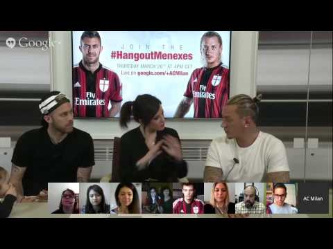 #HangoutMenexes | AC Milan Official