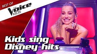 Video TOP 10 | Kids sing BEST DISNEY SONGS in The Voice Kids MP3, 3GP, MP4, WEBM, AVI, FLV Juni 2019