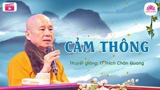 Cảm thông - Thượng Tọa Thích Chân Quang