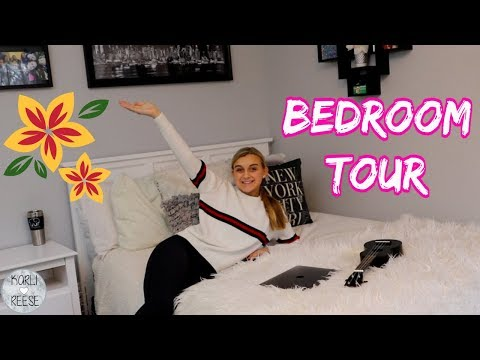 MY BEDROOM TOUR - FALL 2018!