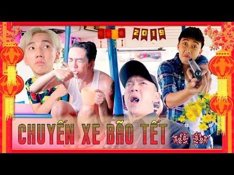 HÀI TẾT 2019   Chuyến Xe Bão Tết : Tập 2 - Ginô Tống, Kim Chi, Lục Anh, Bé Chanh, Lâm Á Hân - Thời lượng: 35 phút.