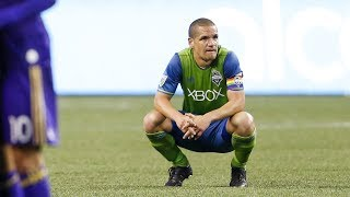 Seattle Sounders FC midfielder Ozzie Alonso speaks to media following the club's 1-1 draw with Orlando City SC. SUBSCRIBE for...