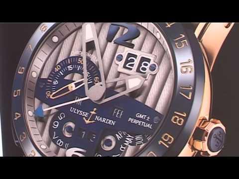 Společnost Azra věnovala panu Bartoškovi hodinky Ulyssse Nardin