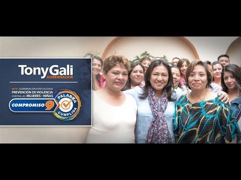 Coordinación Especializada de Prevención de violencia, Compromiso 9 de Tony Gali: Cumplido